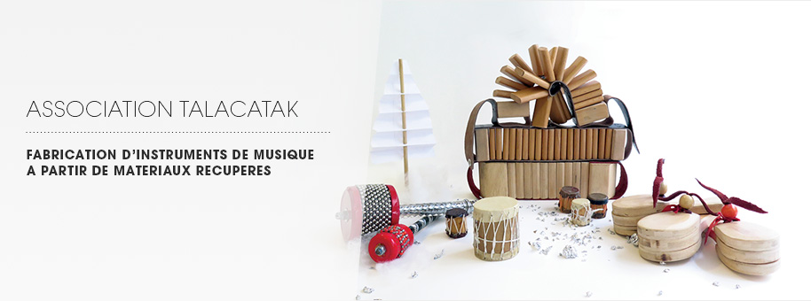 bannière fabrication d'instruments de musique Talacatak