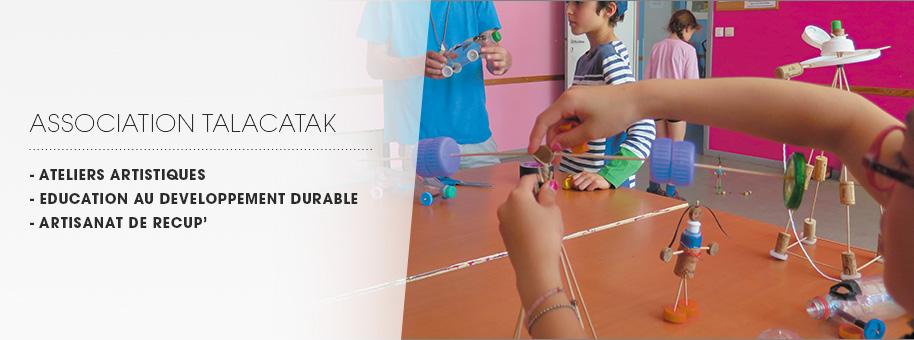 bannière ateliers Talacatak